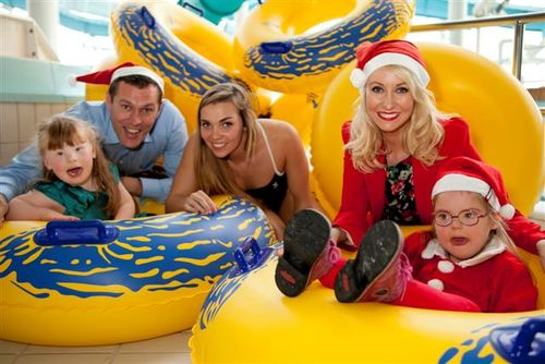 Launch of Santa Swim Fundraiser for St. Michael's House