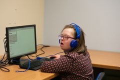 Young Adult Female - Computer Training