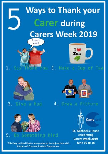 UNIT POSTER - CARERS WEEK 2019