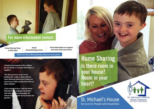 St. Michael's House Home Sharing Leaflet